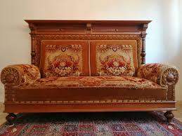 sofa gründerzeit ca 1880 mit originalbezug fachgerecht