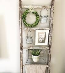 the 25 best wooden ladder shelf ideas on pinterest old ladder