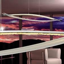 luxus decken leuchte led le 11 w glas kristalle esszimmer