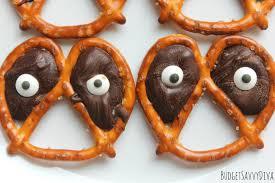 Utz Halloween Pretzels by Halloween Eerie Eyeball Pretzel Rods Dipped In Chocolate And