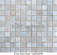 White Mosaic Tiles Abstract Texture And Background