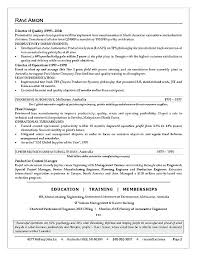 Swinburne Resume Template Business Management Examples Operations Executive