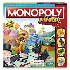 Image Is Loading Hasbro Monopoly Junior Board Game Fun Family Kids