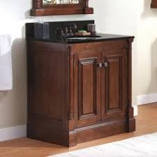 briarwood woodland vanity sink 30w x 18d x 31h drawers right at