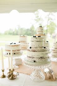 Naked Cake With Berries Weddingchicks