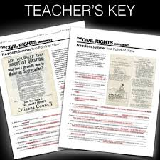 Freedom Summer Primary Source Activity Civil Rights Movement
