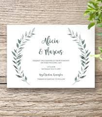 Rustic Square Wedding Invitation Template Landscape Card