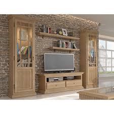 casamia wohnwand wohnzimmer schrank set duett 2 vitrinen tv schrank farbe pinie karamell beleuchtung ohne beleuchtung
