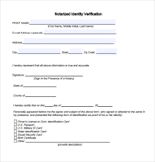 Sample Notarized Letter 6 Documents in Word PDF