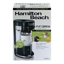 Flexbrew Hamilton Beach Flex Brew Single Serve Coffeemaker