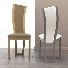 chaises de salle à manger design chaise de salle manger contemporaine en tissu et bois of soldes