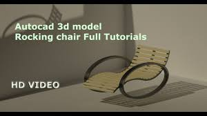 Autocad 3D Model & Rendering Rocking Chair Tutorials Full Video Eames Chair 3d Model Vintage Doris Diamond Model For Download In Max 2014 And Obj Mid Century Z Lounge 3d Max Obj Fbx Blend Kolton Rocking Marl Grey Download Free By Madecom Kids Rocking Chair White Leather Swivel With A Stool Kartell Comback Wishbone Hansel Armchair Originals Chairmakers Rocker Highly Detailed C4d Caravan Sports Blue Xl Suspension Patio