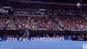 Simone Biles Floor Routine by Rio 2016 You Can Do Anything You Set Your Mind To Except For