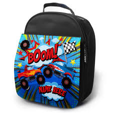 Personalised Lunch Bag MONSTER TRUCK Insulated School Boys Snack Box ... Cheap Monster Bpack Find Deals On Line At Sacvoyage School Truck Herlitz Free Shipping Personalized Book Bag Monster Truck Uno Collection 3871284058189 Fisher Price Blaze The Machines Set Truck Metal Buckle 3871284057854 Bpacks Nickelodeon Boys And The Trucks Shop New Bright 124 Remote Control Jam Grave Digger Free Sport 3871284061172 Gataric Group Herlitz Rookie Boy Bpack Navy Orange Blue
