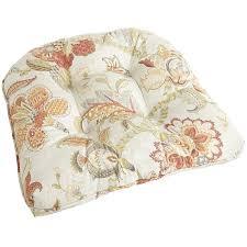 Pier One Kitchen Chair Cushions by Standard Contour Chair Cushion In Eva Orange Cushion Pads