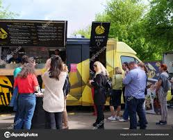100 Where To Buy Food Trucks People Buy Street Food From Food Trucks Stock Editorial