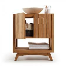 rechteckiger badezimmerschrank kuveni teakholz free