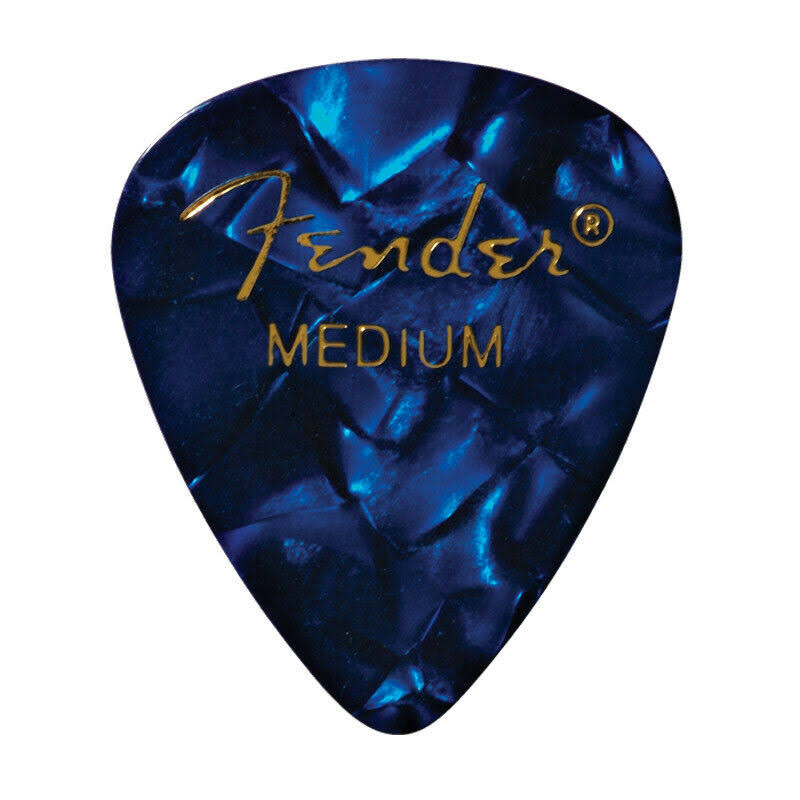 Fender Guitar Picks - Medium, Blue