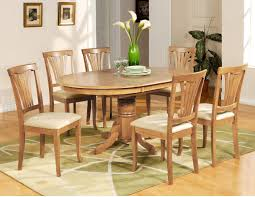 100 Oak Table 6 Chairs Amazoncom Wooden Imports Furniture Avon 7PC Oval Dinette Dining
