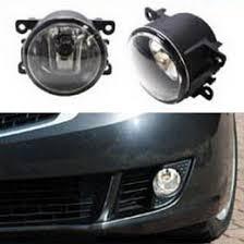 oem fog lights w h11 halogen bulbs for acura honda ford subaru etc