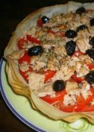cuisine feuille de brick tarte aux feuilles de brick tomates et thon
