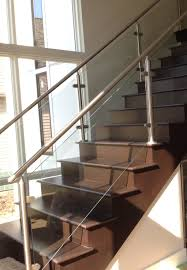 Check Out This Residential Glass Project Done In Avon, OH By Great ... Modern Glass Stair Railing Design Interior Waplag Still In Process Frameless Staircase Balustrade Design To Lishaft Stainless Amazing Staircase Without Handrails Also White Tufted 33 Best Stairs Images On Pinterest And Unique Banister Railings Home By Larizza Popular Single Steel Handrail With Smart Best 25 Stair Railing Ideas Stairs 47 Ideas Staircases Wood Railings Rustic Acero Designed Villa In Madrid I N T E R O S P A C
