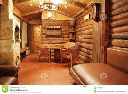 Wooden Interior Stock Image Of House Nobody