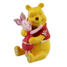 Disney Baby Winnie The Pooh by Disney Winnie The Pooh Piglet Tigger Eeyore Trinket Box Ebay