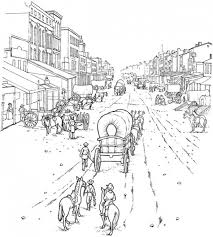 Western Coloring Pages For Adults Collection