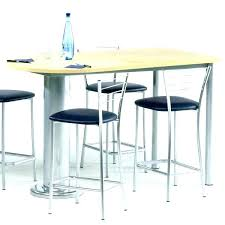 table bar cuisine pas cher ensemble table haute de bar ronde et 4 chaises mrsandman co