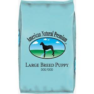 American Natural Premium, Large Breed Puppy Food, 30lbs