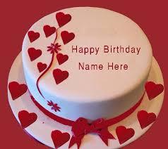 happy birthday cake for my girlfriend birthday cake with name edit online makeHappy birthday