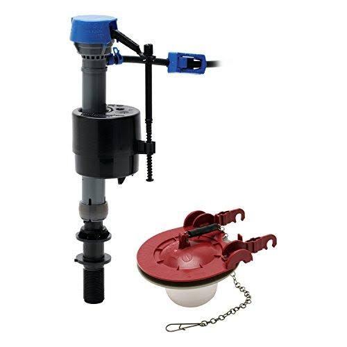 "Fluidmaster 400CAR3P5 PerforMAX Toilet Fill Valve and 3"" Flapper Kit"