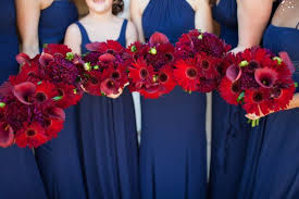 Red And Navy Wedding Ideas