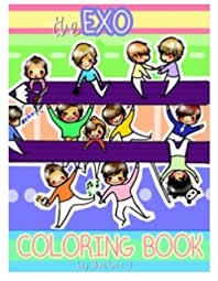 EXO A Day In EXOPLANET Coloring Book SM Entertainment