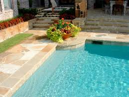 Pool Waterline Tiles Sydney by Pool Coping Options For Swimming Pool Coping In Natural Stone