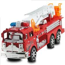 100 Fire Trucks Kids 2016 The New Children Of Inertia Toy Car Large Simulation Fire Truck
