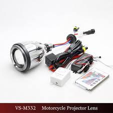 h7 h4 bixenon lens projector lens color changing