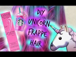 DIY Starbucks Unicorn Frappe Hair Featuring Sally Beauty Color Ion Pastels How I Got