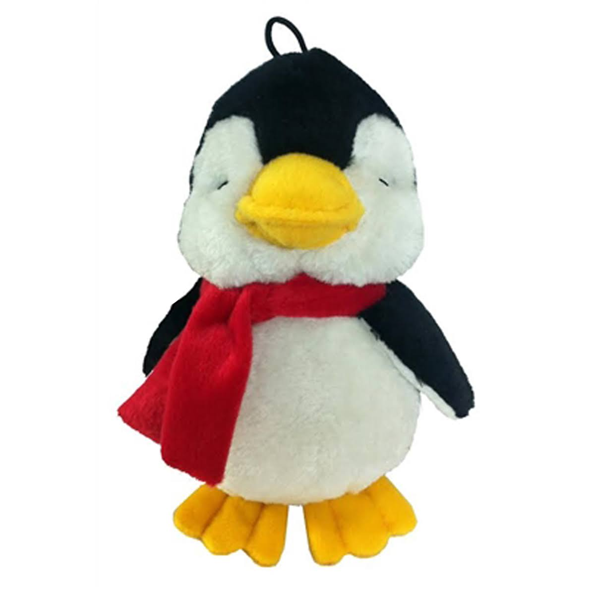 Petlou Holiday Penguin Dog Toy, 8""