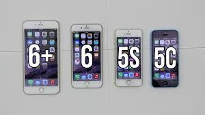 iPhone 6 Plus vs 6 vs 5s vs 5c Full parison