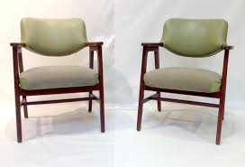 100 Contemporary Armchairs SOLDPair Of MidCentury Modern