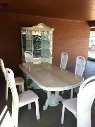 White Dining Table And Chairs For Sale Room Sets Set China Cabinet In Furniture