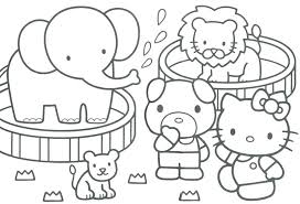 Printable Coloring Pages Winter Kindergarten Kids Free Color For