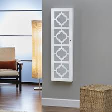 InnerSpace Designer Wall Mount Jewelry Armoire | Hayneedle Belham Living Lighted Locking Quatrefoil Wall Mount Jewelry Bedroom Sei Photo Display Armoire With White Kohls Style Guru Fashion Glitz Wallmounted Wooden 145w X 50h In Proman Products Bellissimo Venice Amazoncom Plaza Astoria Over The Doorwallmount Roma Espresso Kitchen Innerspace Overthedoor Mirror Fniture Mounted Box Target Distressed Provence Mount 17 Varied Kinds Of To Get And Use