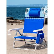 100 Nautica Folding Chairs 5 Position Reclining Beach Chair With Cup Holder
