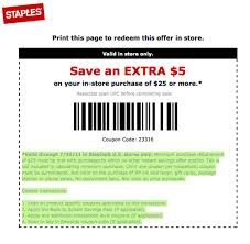 Staples $5 Off $25 Printable Coupon (Exp. 7/30) - Al.com Shindigz Banner Coupon Code August 2018 Staples Coupons House Number Lab Black Friday Lily Direct Promo The Hut Discount Electricals Norton 360 Staples Redflagdeals 3 Amigos Chesapeake Black Friday Ads And Deals Browse The 30 Off Uk Promo Codes Top 2019 Coupons D7 Fniture Save Big With Exp Soon Print Now Coupon 25 75 Love To May
