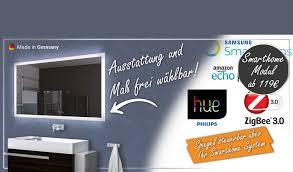 smarthome multimedia badspiegel schreiber design