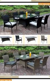 large patio table and chairs patio table patio chairs the furniture