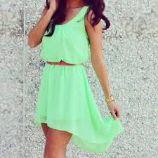 Cute Teenage Girls Summer Dress